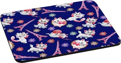 RADANYA Cute Cat RDPD-02-192 Mousepad(Blue)