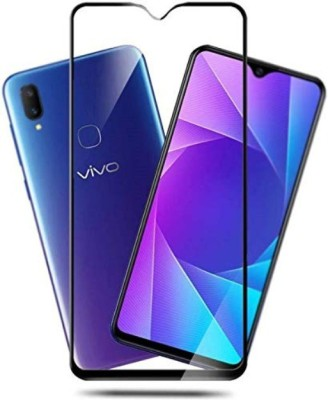 LORTZEA Edge To Edge Tempered Glass for VIVO V11i, VIVO V11 PRO 6D 9H toughness TEMPERED GLASS (SHATTER PROOF ) (SCRATCH RESISITANT) (ANTI FINGERPRINT) (OLIOPHOBIC COATING), VIVO V11(Pack of 1)