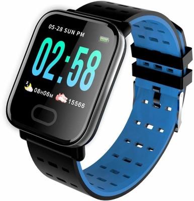 Lionix V8 phone Blue Smartwatch(Blue Strap Free Size)