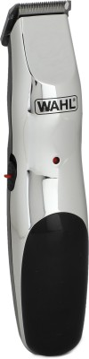 Wahl 09916-1724 Runtime: 60 min Trimmer for Men(Silver)