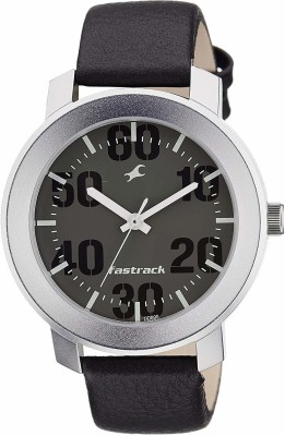 Fastrack NG3121SL02C Bare Basic Analog Watch   For Men Fastrack Wrist Watches