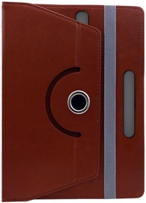 Fastway Book Cover for Lenovo A10-70 A7600H(Brown, Cases with Holder)