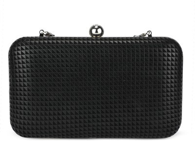 Chemistry Casual Black  Clutch at flipkart