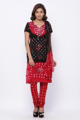 Soundarya Cotton Blend Printed Kurta Fabric Unstitched Soundarya Women's Dress Materials