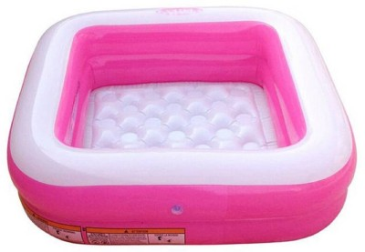ODELEE PLAY BOX POOL Inflatable Pool(Pink)