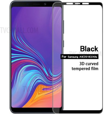 9H Edge To Edge Tempered Glass for Samsung Galaxy A9 (2018) / A9 Star Pro / A9s (Premium 6D 9H Full Glue)(Pack of 1)