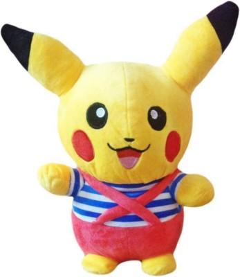 DSD CUTE POKEMON PIKACHU SOFT TOY   12 inch Yellow DSD Soft Toys