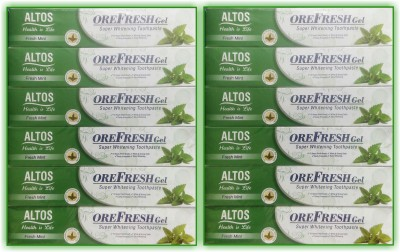 OREFRESH GEL OreFreshGel_Fresh Mint_X12 Toothpaste(1200 g, Pack of 12)