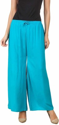 SriSaras Relaxed Women Blue Trousers