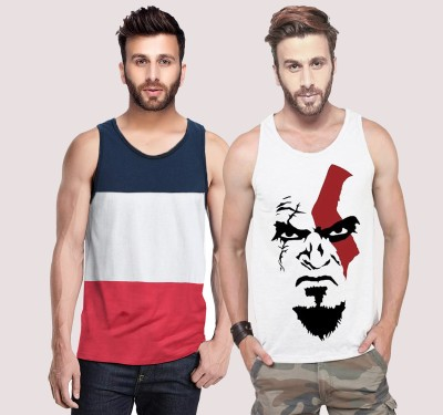 Tripr Men Vest(Pack of 2)