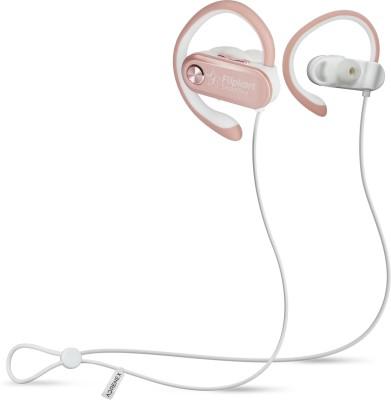 Flipkart SmartBuy BWA18AA002 Bluetooth Headset(Rose Gold, In the Ear)