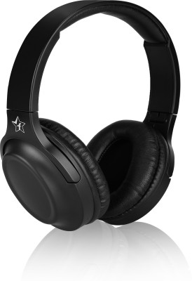 Flipkart SmartBuy 18LY62BK Bluetooth Headset(Black, Wireless over the head)