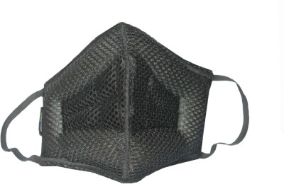 Gills Toby Advanced Air Pollution Mask,Bike mask_Medium Soft Black Mask and Respirator
