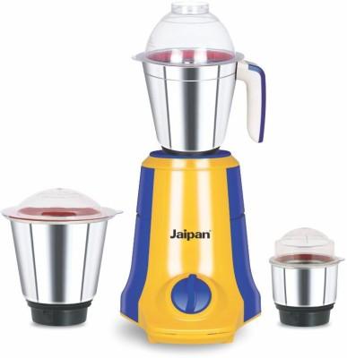 Jaipan JPKS0203 750 Mixer Grinder(Yellow/Blue, 3 Jars)