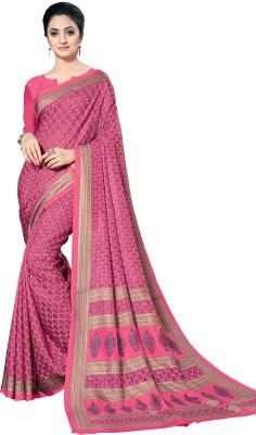 Lady Sringar Printed Fashion Cotton Silk Saree Multicolor