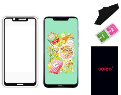 UOIEA Tempered Glass Guard for Nokia 8.1(Nokia X7)(Pack of 1)