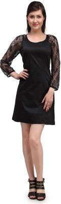 Eves Pret A Porter Women Shift Black Dress