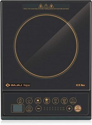 Bajaj Majesty ICX Pearl 1900 W Induction Cooktop (Black)