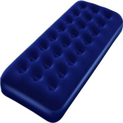 aleswick PVC 1 Seater Inflatable Sofa(Color - Blue)