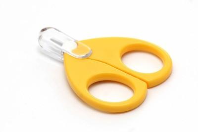 PRESENTSALE Baby Safety Scissor with Circular Head Cutter