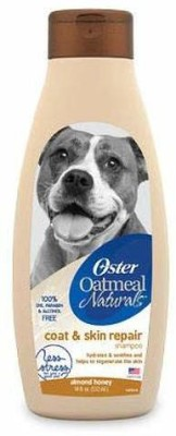 Oster Allergy Relief almond honey Dog Shampoo(532 ml)