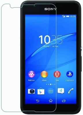 Owlam Tempered Glass Guard for Sony Xperia E4(Pack of 1)