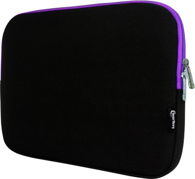 Emartbuy Sleeve for Celkon CT-910(Black, Purple, Waterproof)