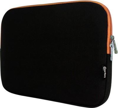 Emartbuy Sleeve for Celkon CT-910(Black, Orange, Waterproof)
