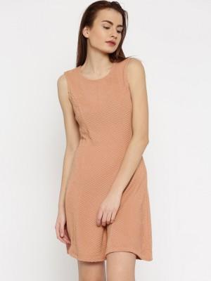 Vero ModaWomen A line Pink Dress