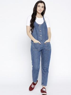 Only Self Design Women Jumpsuit at flipkart