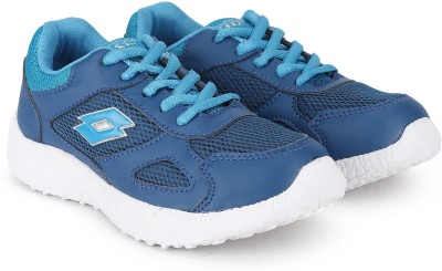 Lotto Boys & Girls Lace Running Shoes(Blue) at flipkart