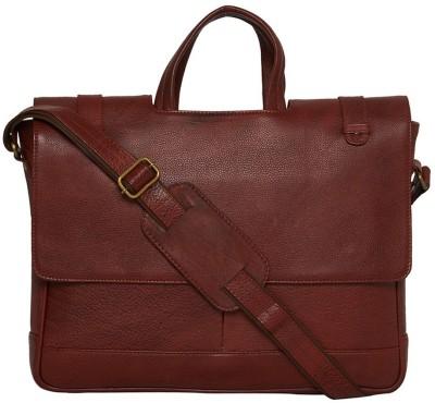 Leatherworld 15 inch Laptop Messenger Bag Tan Leatherworld Laptop Bags