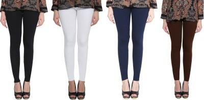 Ziva Fashion Brown Jegging(Self Design)