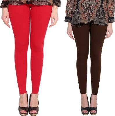 Aditi Fashion Ankle Length  Legging(White, Blue, Brown, Black, Solid)