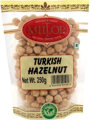 MilTop Turkish Hazelnuts(250 g, Pouch)