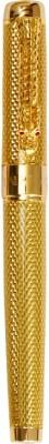 Hayman Jinhao 1200 Golden Dragon Carved Roller Ball Pen