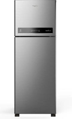 Whirlpool 265 L Frost Free Double Door 4 Star Refrigerator(Magnum Steel, IF INV 278 ELT Magnum Steel (4S))