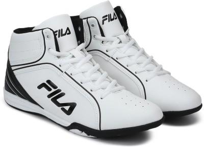 Fila IGNISM SS 19 Basketball Shoes For Men(White, Black