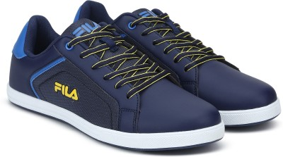 0705a84bb628 55% OFF on Fila FEDERIANO 3 SS 19 Casuals For Men(Blue) on Flipkart ...