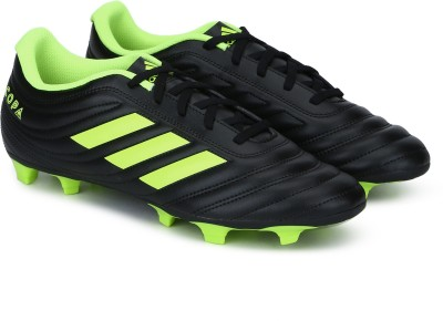 ADIDAS Copa 19.4 Fg Football Shoes For Men Black, Green