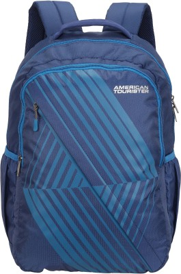 American Tourister AMT TIMBO+ SCH BAG 01 BLUE 34 L Backpack