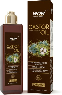 WOW Skin Science Castor Hair Oil