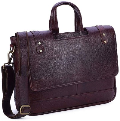 BORSE 16 inch Laptop Backpack Brown BORSE Laptop Bags