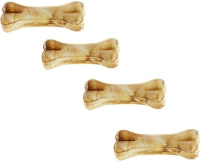 Pets Empire Pressed Dog Bone, (XLarge 8-Inch) 8 Inch Bone X 4 Pcs Chicken Dog Chew(499 g, Pack of 1)  available at flipkart for Rs.525