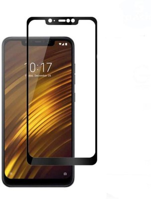 Unirock Edge To Edge Tempered Glass for POCO F1 by Xiaomi (Rosso Red, 256 GB) (8 GB RAM)(Pack of 1)