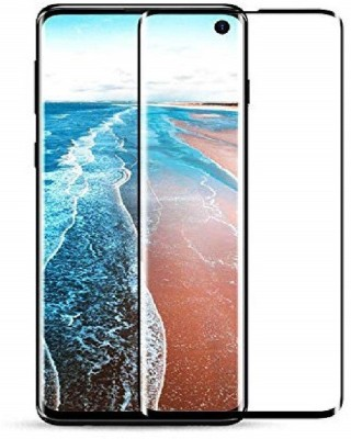 Colorcase Tempered Glass Guard for Samsung Galaxy S10(Pack of 1)