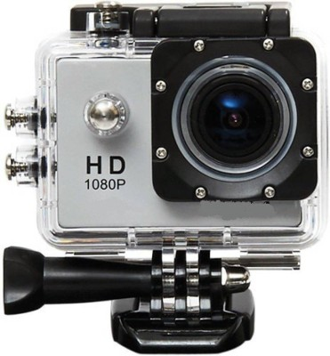 Buy Genuine HD 1080P Waterproof Sports Camera 2 inch LCD 140 Degree Wide Angle Lens Waterproof Diving  Sports and Action Camera Black, 12 MP Buy Genui