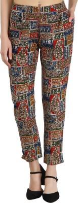 Jaipur Attire Regular Fit Women Multicolor Trousers
