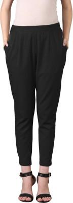 Jaipur Attire Regular Fit Women Black Trousers