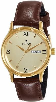 TitanNN1580YL05 Analog Watch   For Men